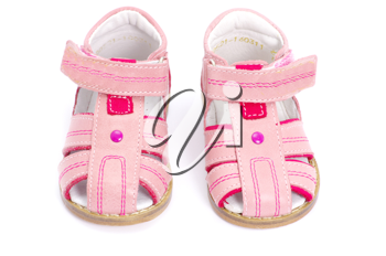 Royalty Free Photo of Pink Child's Sandals