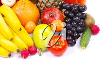 Royalty Free Photo of Fruits and Vegetables