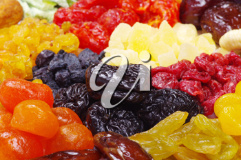 Royalty Free Photo of Dried Fruits