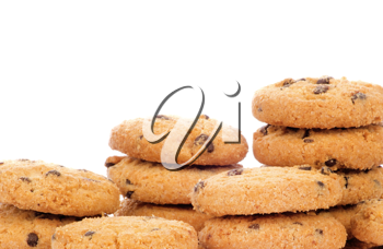 Royalty Free Photo of Stacks of Cookies