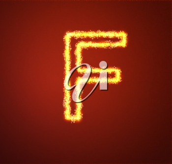Royalty Free Photo of a Gold Letter