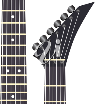 Royalty Free Clipart Image of a Guitar