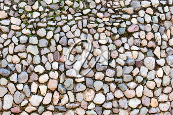Wall of stones as a background. texture