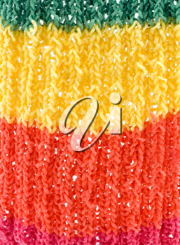 Royalty Free Photo of a Knitted Scarf