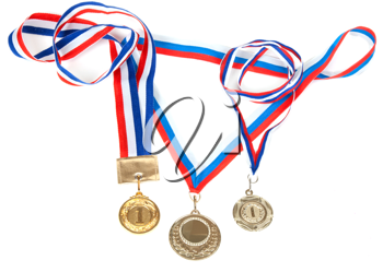 Royalty Free Photo of Three Medals