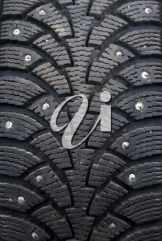 Royalty Free Photo of a Winter Tire
