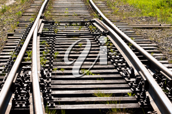 Royalty Free Photo of a Railway Track
