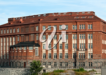 Royalty Free Photo of a Building in Finland
