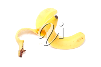 Royalty Free Photo of a Banana Peel