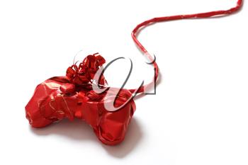 Royalty Free Photo of a Wrapped Gaming Controller