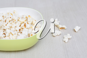 Royalty Free Photo of a Bowl of Popcorn
