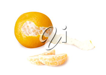 Royalty Free Photo of a Clementine