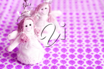 Royalty Free Photo of Angel Ornaments