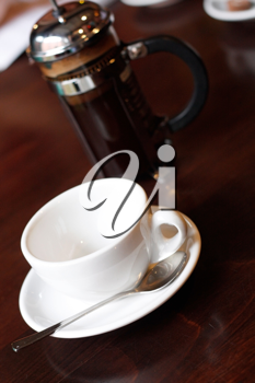 Royalty Free Photo of a Cup of Coffee