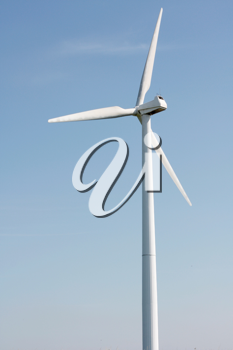 Royalty Free Photo of a Wind Turbine