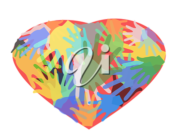 Royalty Free Clipart Image of Hands