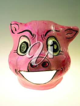 Royalty Free Photo of a Pig Mask