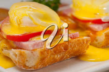 Royalty Free Photo of Eggs Benedict