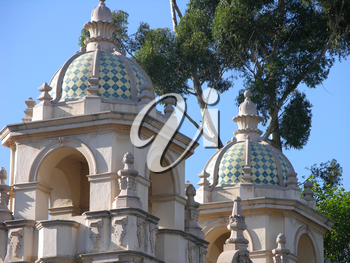 Royalty Free Photo of Balboa Park Museum in San Diego
