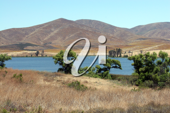 Royalty Free Photo of a Scenic Lake in San Diego