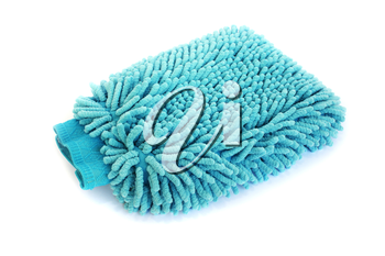 Royalty Free Photo of a Blue Duster
