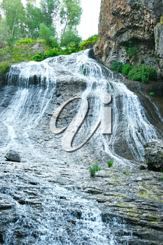 Royalty Free Photo of a Waterfall in Jermuk, Armenia