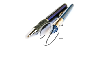Royalty Free Photo of Two Pens