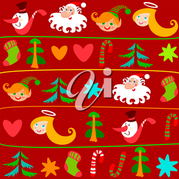 Christmas background. Can be use at your Christmas card design