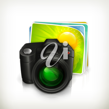 Photo, vector icon