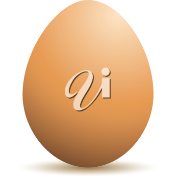 Royalty Free Clipart Image of an Egg