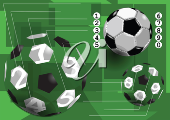 football infographic. abstract soccer infographic. 10 EPS