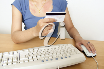 Internet/online purchase, can be used for e-commerce concept
