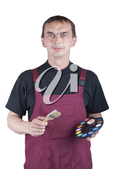 Royalty Free Photo of a Painter