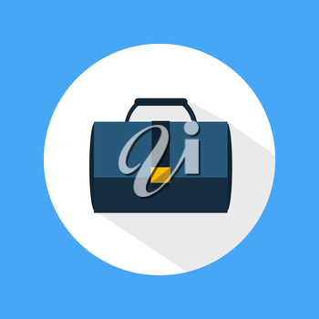 Briefcase icon. Business concept for office workers