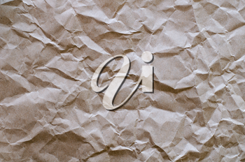 crumpled brown paper to use a background image