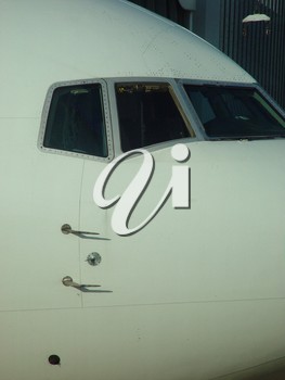 Stock Photo of a Jet Airliner