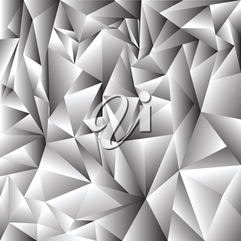 illustration with  abstract crystal background for your design
