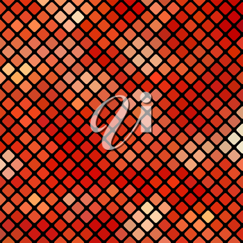 Red Square Pattern. Abstract Red Square Background