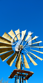 blur south africa  windmill  turbine technology in the national park