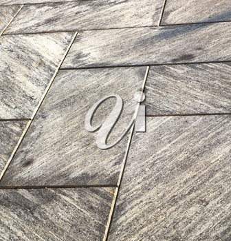 in mozzate  street lombardy italy  varese abstract   pavement of a curch and marble