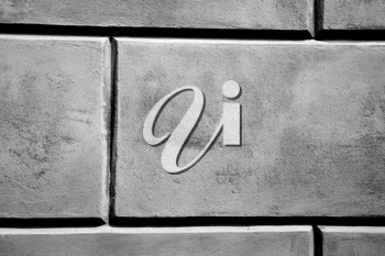 brick in  italy old wall and texture material the background