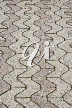 jerago street  lombardy italy  varese abstract   pavement of a curch and marble