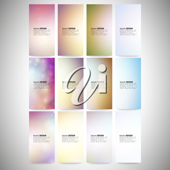 Modern banners, abstract banner design, business design and website templates vector.