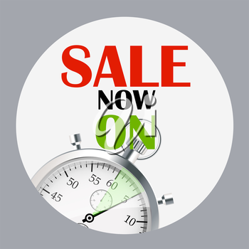 Sale Banner with Place for Your Text. Vector Illustration EPS10
