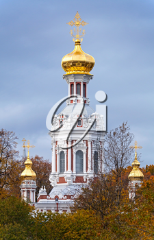 Old Orthodox Church of the Nativity in St.Petersburg, Russia