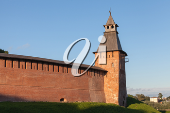 Novgorod Kremlin also known as Detinets stands on the left bank of the Volkhov River. It was built between 1484 and 1490. World Heritage Site