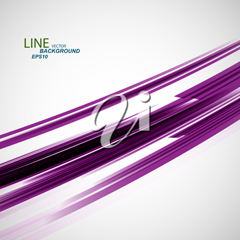 Vector color abstract beautiful twirl line eps.
