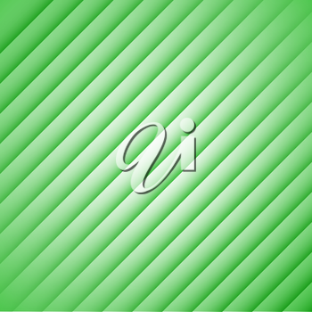 Abstract green stripes on a white background.
