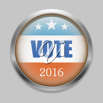 Voting Symbols vector design presidential election 2016