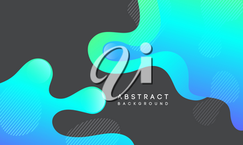 Moving colorful abstract background. Dynamic Effect. Vector Illustration. Design Template for poster and cover.